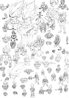 Explore the Dibujos de Dragon Ball collection - the favourite images chosen by on DeviantArt. Ball Drawing, Drawing Base, Manga Drawing, Drawing Sketches, Character Drawing, Character Design, Dbz Drawings, Anatomy Sketches, Figure Sketching