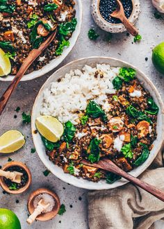 This creamy Black Lentil Curry recipe is inspired by the popular Indian Dal Makhani but made vegan with coconut milk, beluga lentils, and healthy veggies! Black Lentils, Best Curry, Curry Dishes, Lentil Curry, Healthy Vegetables, Greek Recipes, Zucchini, Dinner Recipes, Lentils