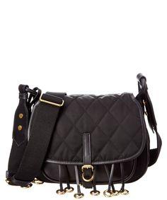 c6ffd4b563c9 PRADA Prada Corsaire Quilted Nylon & Leather Messenger. #prada #bags # shoulder b