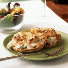 Scallops au Gratin | MyRecipes.com My MIL's recipe, revamped by Cooking Light Magazine and featured in their Lighten Up section.