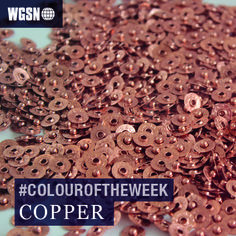 Our #colouroftheweek is copper. Were loving the rose-gold copper tones currently seen at retail, and it was one of the most popular metals seen at Milan Design Week too. Looking ahead, its one of the down to earth metallics in our Industrial Evolution trend for A/W 14/15. Subscribers see more on copper here. Image: Marti Guixe for Levi's from the #501 what's you interpretation event at Milan Design Week
