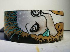 New Wave Corpse ZombieHead Bracelet by ZombieHead on Etsy, $65.00