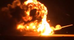Video Emerges Of Russian Tu-95 Bear Strategic Bomber Exploding (Video) The Moscow Times 1/20/16