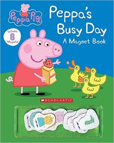 Peppa's Busy Day Magnet Book (Peppa Pig): Eone: 9780545925457: AmazonSmile: Books