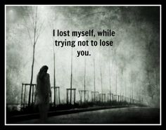 Reminds me of a good friend except they dont realize they already lost them
