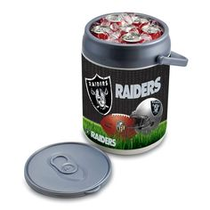 Picnic Time Can Cooler - NFL Oakland Raiders