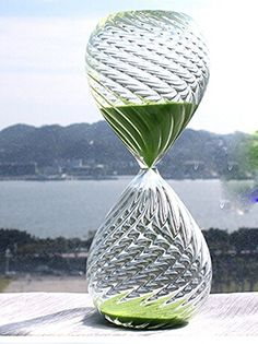Qu Twill Romantic Hourglass Timer + 4 Colors Glass Sand 30 Minutes Sand Timer (Green) Sand timer http://www.amazon.com/dp/B00T6IROZ6/ref=cm_sw_r_pi_dp_NR01vb0H9Q52Y