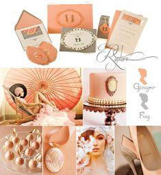 FOUND IT!  Colors for Biz Logo!!!! Rapture: www.paperpresentation.com  Ginger & Fog