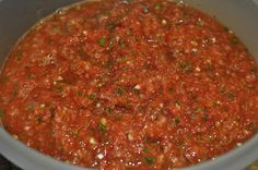 On the Border Salsa recipe! I have made many times, it is our favorite!!!