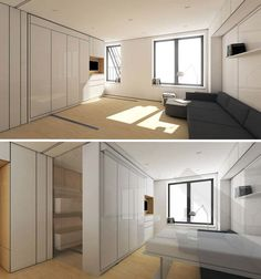 Flexible Interiors: 13 Shape-Shifting Small Apartments