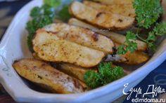 Картофельные дольки в специях   Кулинарные рецепты от «Едим дома!»