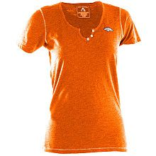 "Women's Antigua Denver Broncos ""Spry"" V-Neck T-Shirt - SportsAuthority.com"