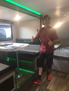Circus Stella visit America's Largest RV Show in Hershey, PA, and give a tour of their new Embrace travel trailer Camper Life, Rv Life, Rv Show, Rv Travel, America