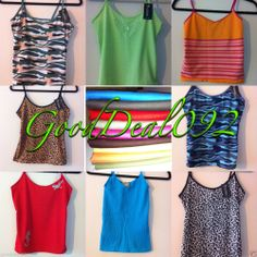 ladies girls top vest sleeveless tank slim blouse striped t-shirts ribbed