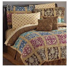 """""""Bologna"""" 20 Piece Bedroom Bedding Set - Queen #NonBranded"""