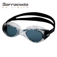 Barracuda Swim Goggle TITANIUM - One-piece Frame for Adults #16420