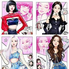 Cartoon Girl Drawing, Girl Cartoon, Melanie Martinez, Billie Eilish, Arte Copic, Arte Black, Arte Do Kawaii, Blackpink Poster, Lisa Blackpink Wallpaper