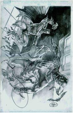 Daredevil & Batman - Bing Cansino