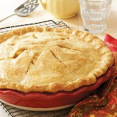 Apple Pear Pie Recipe -This fruit pie, brimming with apples and pears, really…