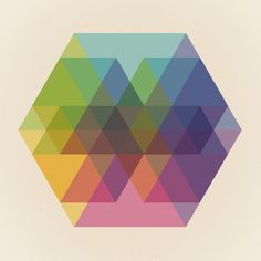 Maps of Imaginary Places / Fig. 040 Hexagon Shapes Art Print — Designspiration