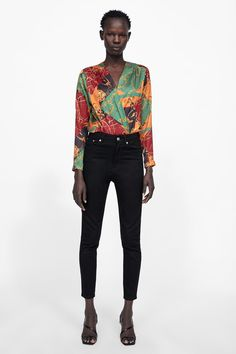 Zara, Bohemian Mode, Boho Fashion, Bodysuit, Suits, Chain, Clothes For Women, My Style, Pretty