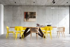 New dining table from MOYA Dining Room, Dining Table, Conference Room, Design, Furniture, Armchairs, Home Decor, Spaces, Home Decoration