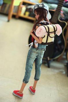 Smart Doll Ebony by 小樽