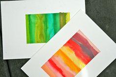 rainy day watercoloring