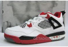 http://www.getadidas.com/air-jordan-retro-4-fire-reds-white-black-lastest.html AIR JORDAN RETRO 4 FIRE REDS WHITE BLACK LASTEST Only $61.00 , Free Shipping!