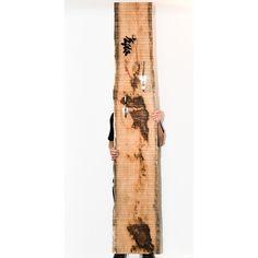 Totem contemporain portemanteau en chêne massif n°57