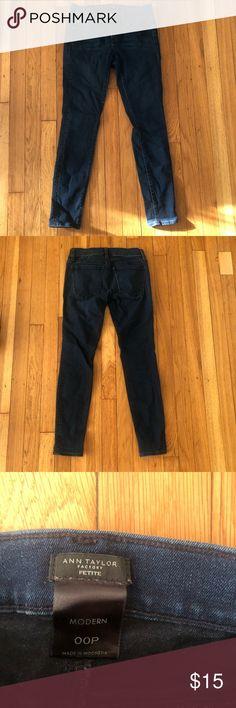 Big mens Maxi Milian tear scratch dark indigo jeans  44