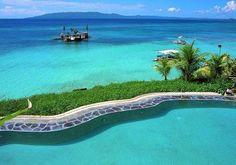 Panglao Island, Bohol, Philippines  One day, I'd like to swim around Panglao Island.