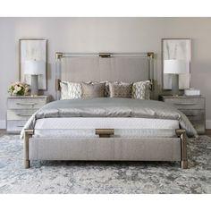Room Ideas / Bedroom / Cool Notes – High Fashion Home Rustic Bedroom Design, Romantic Bedroom Decor, Modern Bedroom, Glam Bedroom, Rustic Bedrooms, Bedroom Designs, Hamptons Bedroom, Masculine Bedrooms, Luxury Bedroom Design