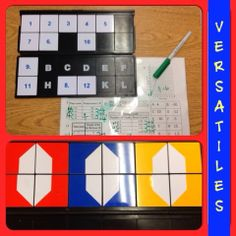 Fun way for students to practice solving equations. They draw the ...