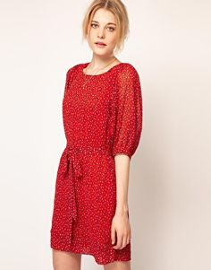 French Connection Calypso Flower Tunic Dress