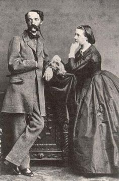 Stephen, Palatine of Hungary and Archduke of Austria with his wife,