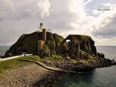 Sanda Lighthouse Island, Scotland