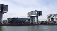 Europe town walk Vol 5 Köln(Deutschland)5 View from the Rhine(HD Ver)