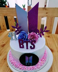 Army Birthday Cakes, Army's Birthday, Bithday Cake, Bts Happy Birthday, Bts Cake, Army Cake, Bts Book, Bts Birthdays, Dream Cake