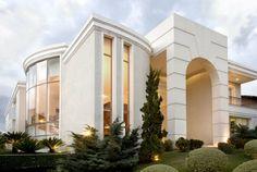 Fachadas de casas lindas e de diferentes estilos! Veja qual é a sua preferida! - Decor Salteado - Blog de Decoração e Arquitetura