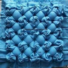 Image result for cojin drapeado en las esquinas