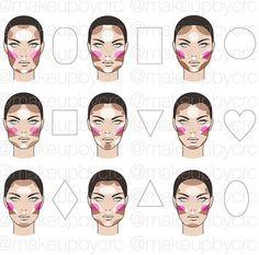 90 Best Face Shape Images Face Shapes Face Beauty Hacks