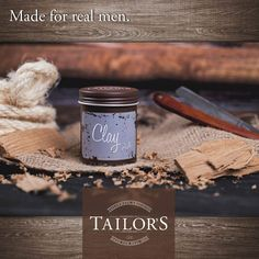Real Man, Hair Care, Clay, Form, Living Room, Real Men, Bamboo, Surface Finish, Clays