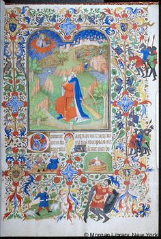 Book of Hours, MS M.1004 fol. 78r - Images from Medieval and Renaissance Manuscripts - The Morgan Library & Museum