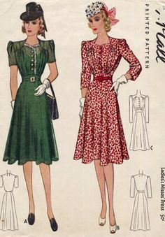 McCall 3706: Ladies' and misses' dress