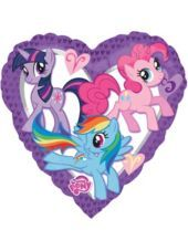 32 inch Foil Heart My Little Pony Balloon-Party City