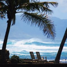 Oahu Hawaii North Shore. Who wants to go with me? Hate winter!