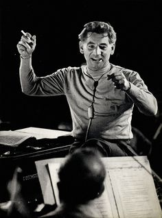 """""""Music can name the unnameable and communicate the unknowable."""" Leonard Bernstein © Heinz Köster"""