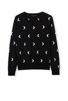 Country Road crescent moon knit