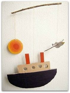 Cool & Crafty Ship Mobile